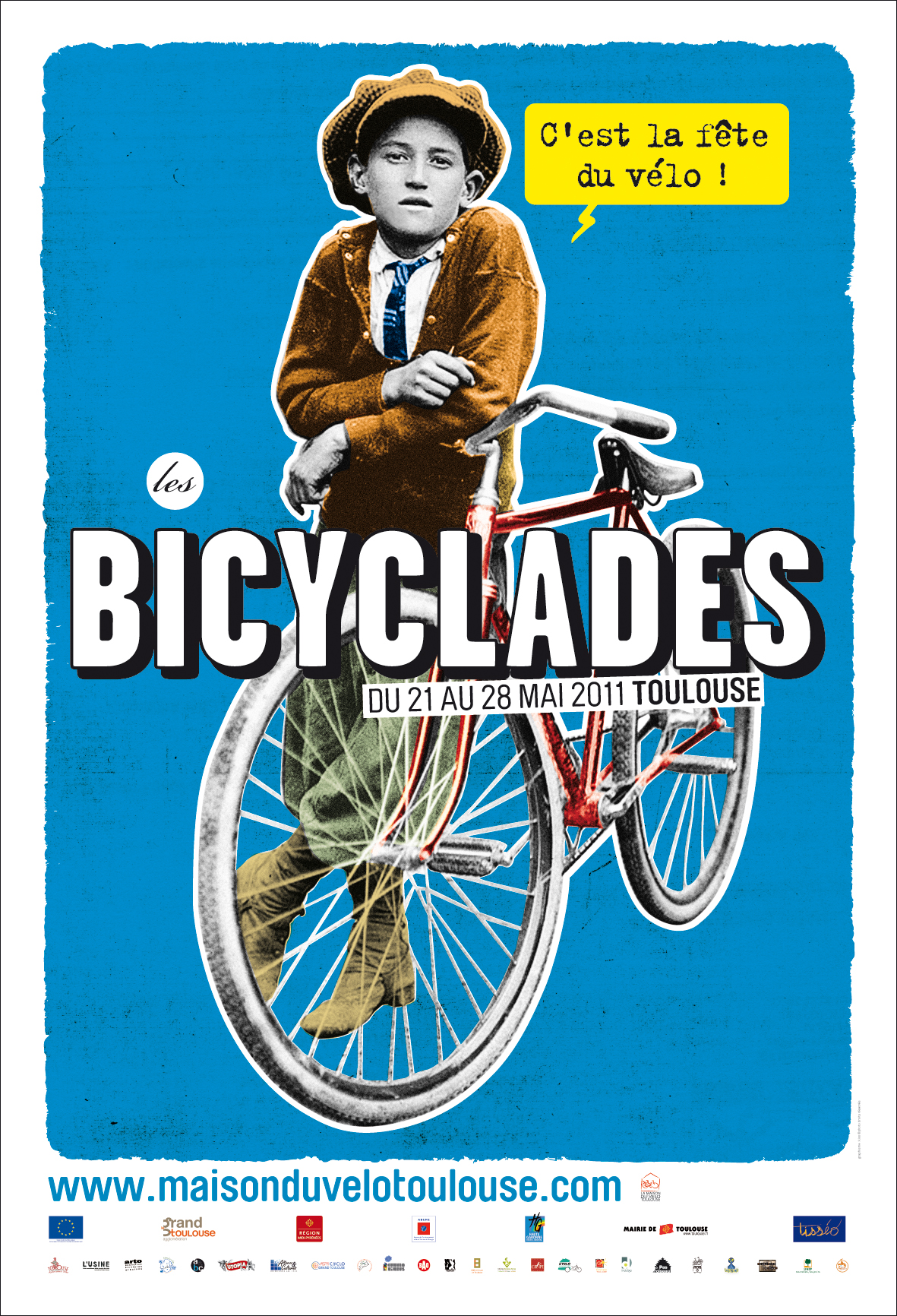 RECTO FLYER BICYCLADES marges