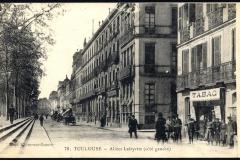 Allées Lafayette (côté gauche)